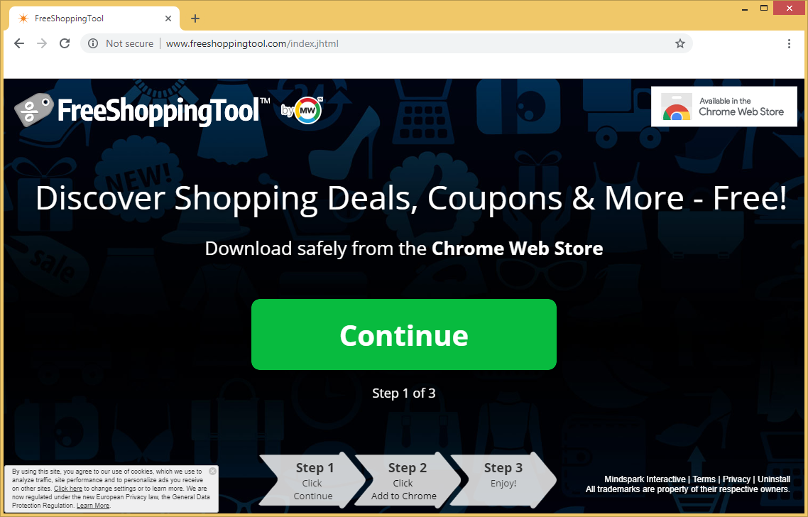 FreeShoppingTool Toolbar — как удалить?