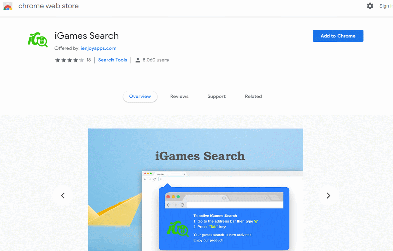 IGames Search Hijacker