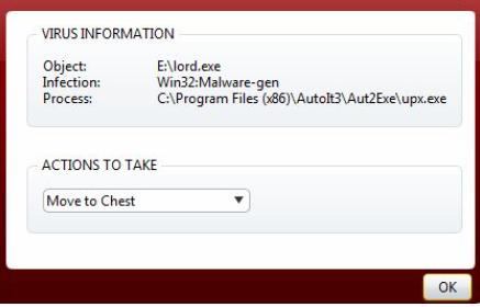 avast win32 malware-gen