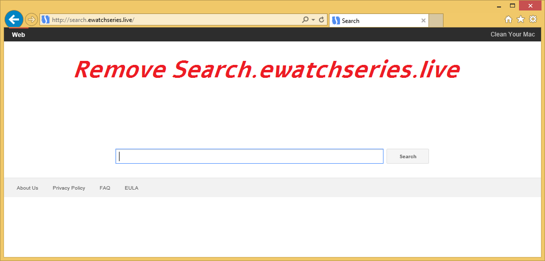 Remove Search.ewatchseries.live
