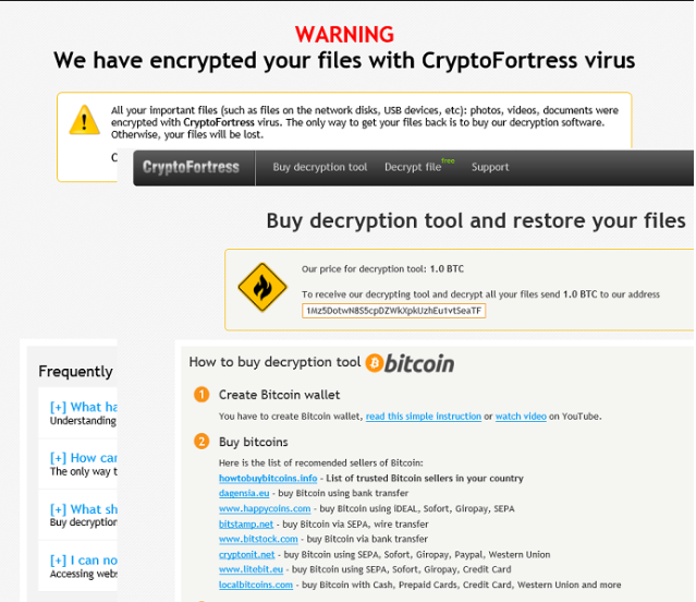 CryptoFortress ransomware virus