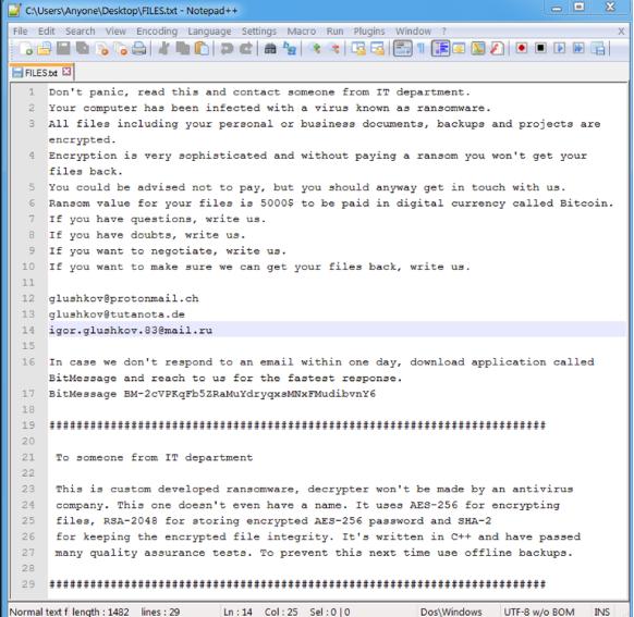 Odstranit Defray ransomware virus