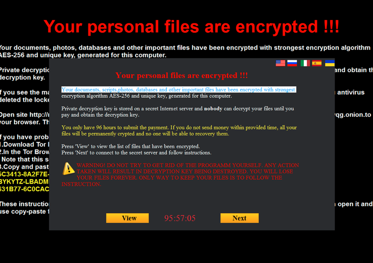 FUNNY ransomware