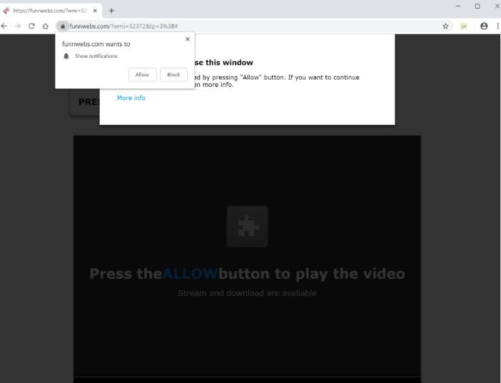 Odstranit Funnwebs.com
