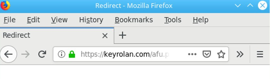 Fjern Keyrolan.com redirect