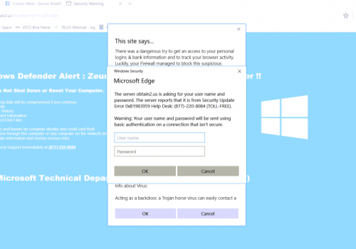 Remove Microsoft Edge virus