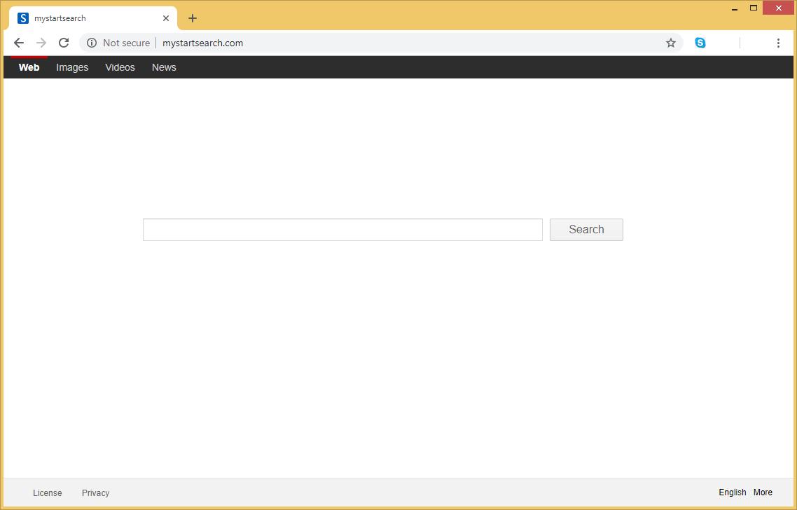 Mystart Search Virus