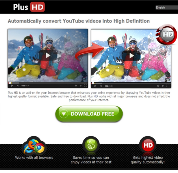 إزالة Plus-HD Ads