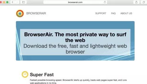 Remove BrowserAir