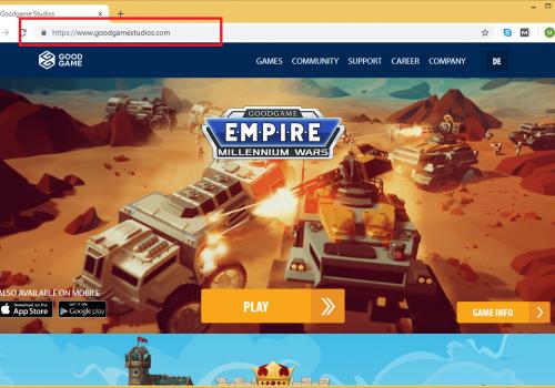 How to remove Goodgamestudios.com