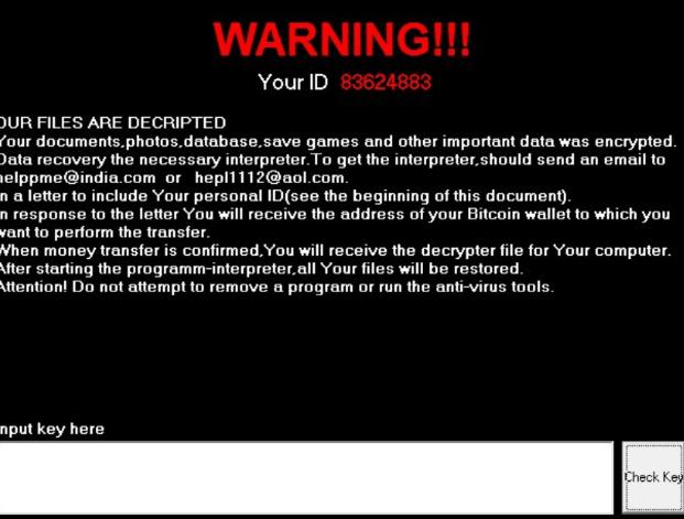 Cossy Ransomware Virus