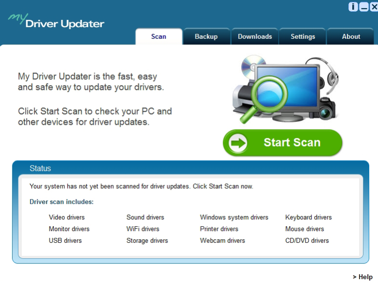 DriverUpdate virus