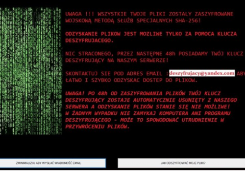 Forma Ransomware poisto