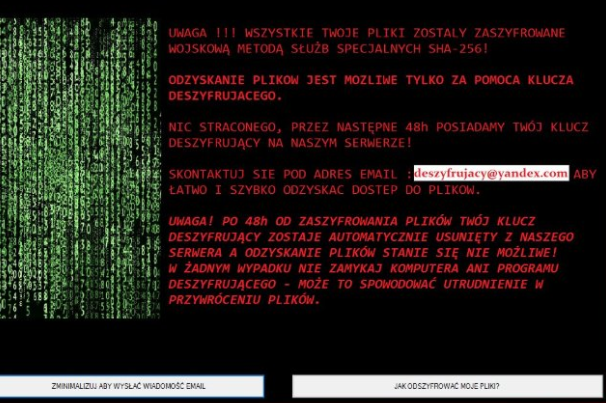 Suppression de Forma Ransomware
