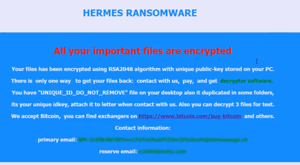 Remove Hermes 2.1 Virus