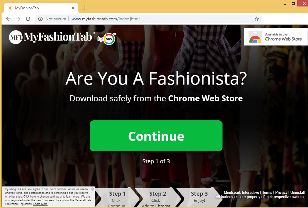 MyFashionTab Toolbar
