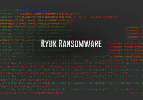 Eliminar Ryuk Ransomware