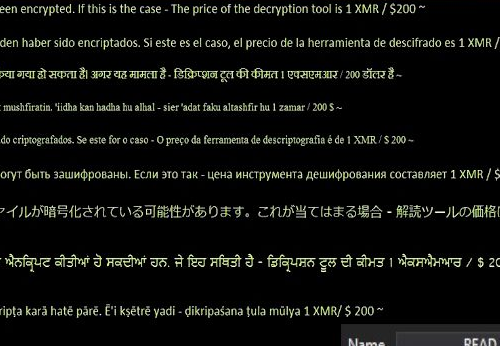Remove TotalWipeOut ransomware