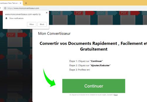 Remover MonConvertisseur