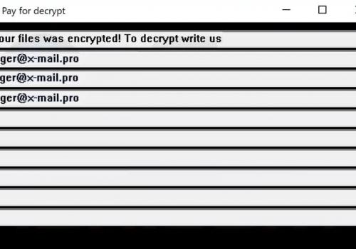 เอา biger@x-mail.pro virus