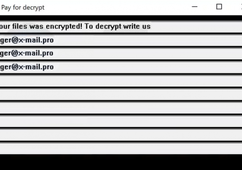 Usuń biger@x-mail.pro virus