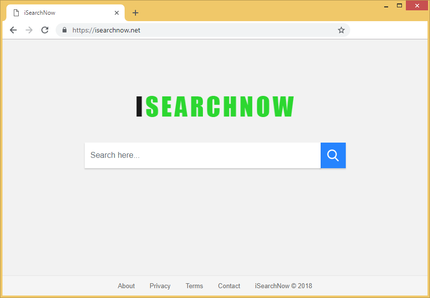 Supprimer iSearchNow.net