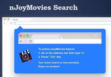 Rimuovere nJoyMovies Search Plus