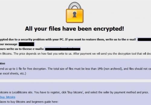 Odstrániť AUF Ransomware