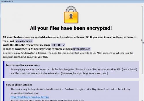Remove .Adobe ransomware