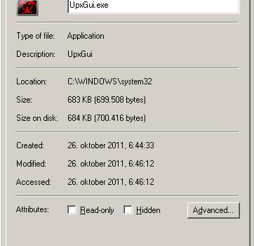 Menghapus AutoIt v3 script virus