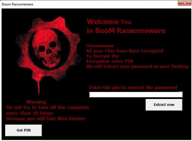 Boom file virus