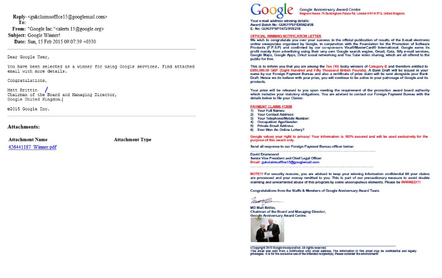 google ceo contact info