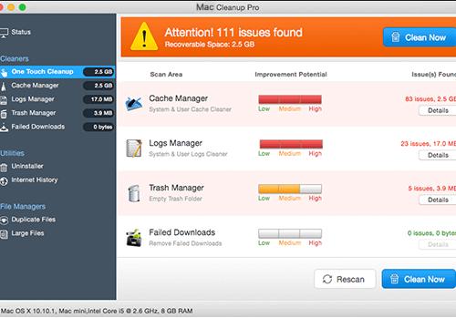 Κατάργηση Mac Cleanup Pro
