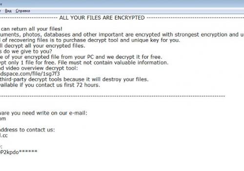 Rimuovere Rumba ransomware