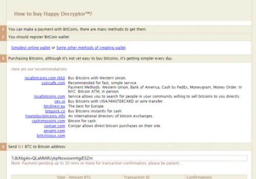 Remove .happy file virus