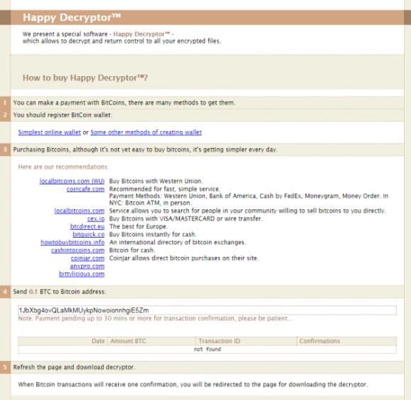 happy file virus