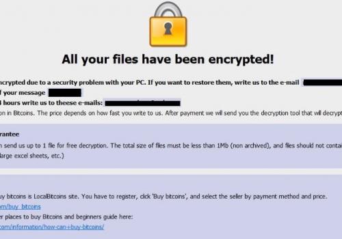 إزالة 888 ransomware