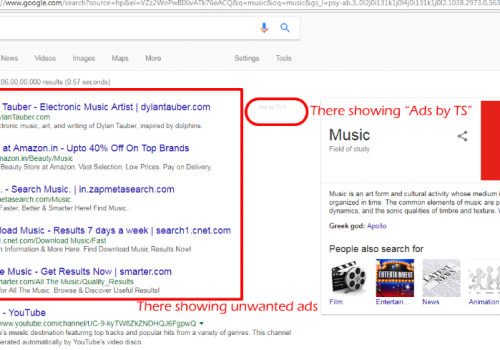 Как удалить Ads by TS