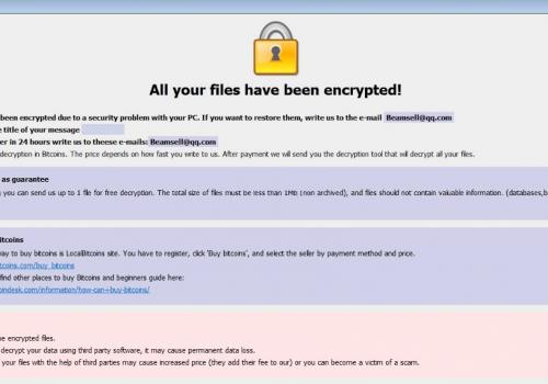 .Jupstb ransomware virus – Temizleme Aracı kaldırma