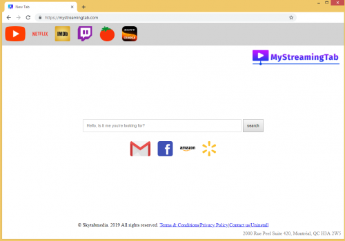 MyStreamingTab – hoe te verwijderen virus?
