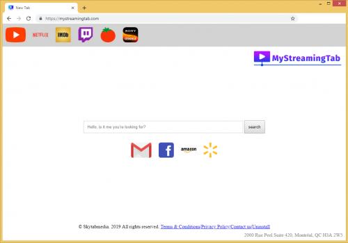 Hogyan lehet eltávolítani Mystreamingtab.com