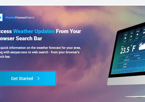 Odstranit weatherforecastsearch.com adware