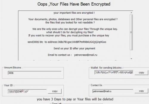 Remover Klope Ransomware Virus