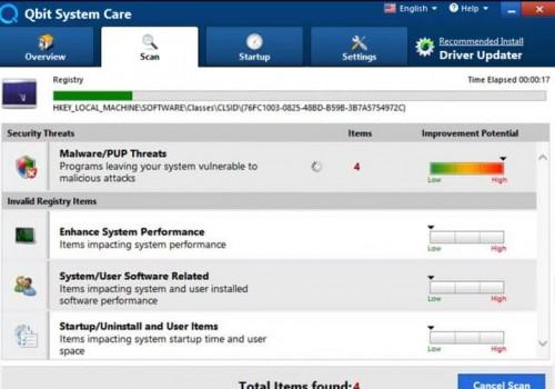 Como remover Qbit System Care