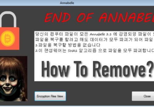 Remover Annabelle 2.1-Annabelle 2.1 ransomware remoção