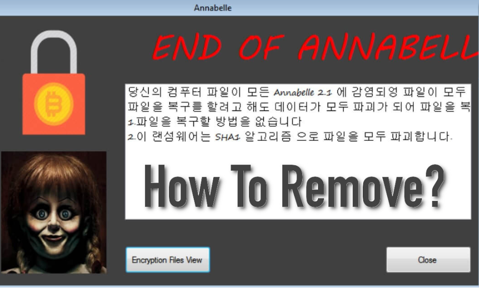 Remove Annabelle 2.1
