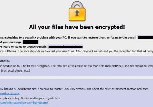 เอาBtix Ransomware