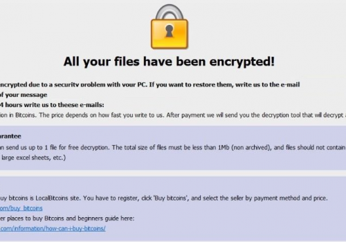 PoistaaCarcn Ransomware