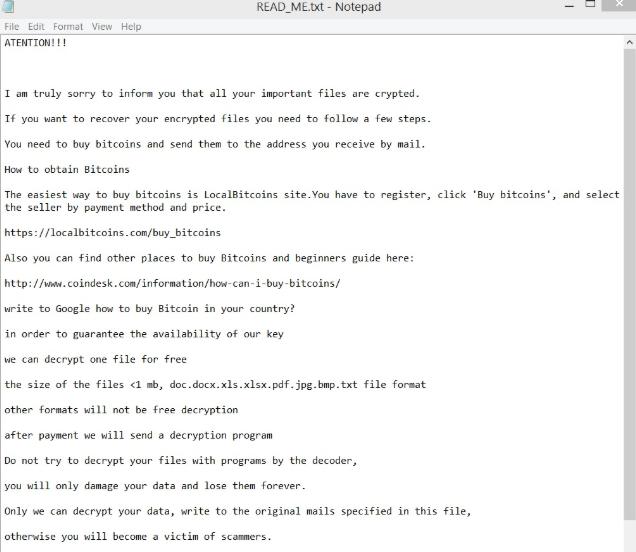 Cube ransomware virus-Hoe te ontgrendelen?