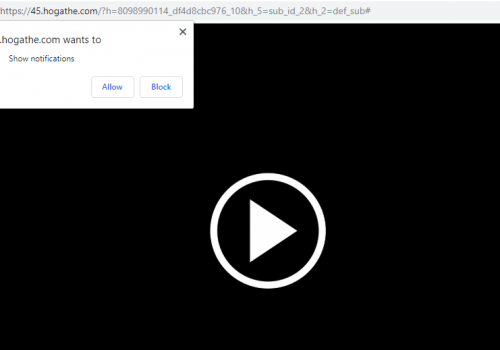 Remover Hogathe.com -hogathe remoção